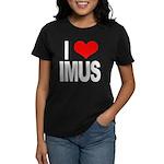 I Love Imus Women's Dark T-Shirt