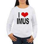 I Love Imus Women's Long Sleeve T-Shirt