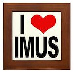 I Love Imus Framed Tile