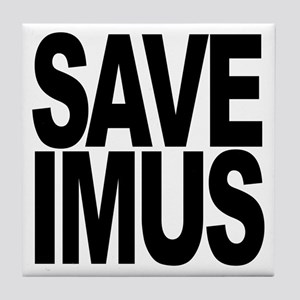 Save Imus Tile Coaster