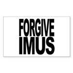 Forgive Imus Rectangle Sticker