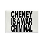 Cheney Is A War Criminal Rectangle Magnet (100 pac
