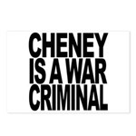 Cheney Is A War Criminal Postcards (Package of 8)