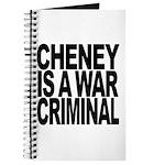 Cheney Is A War Criminal Journal