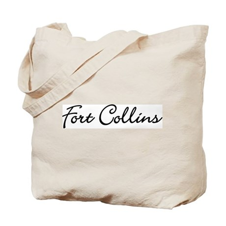 Fort Collins, Colorado Tote Bag
