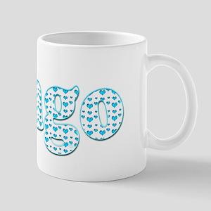 Bingo Hearts text Mug