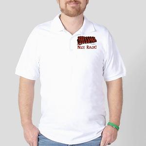 nice_rack Golf Shirt