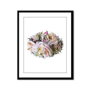 ROSES SCENT Framed Panel Print