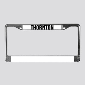 Thornton, Colorado License Plate Frame