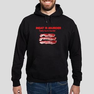 Meat is Murder 4 Hoodie (dark)
