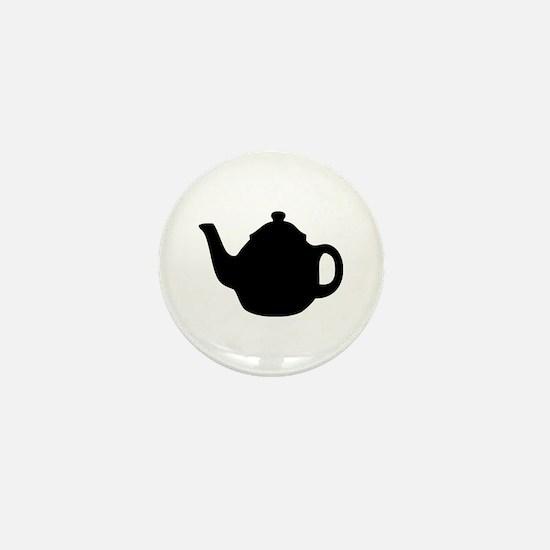 tea pot Mini Button
