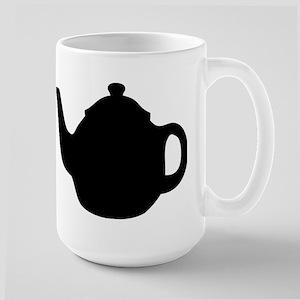 tea pot Large Mug