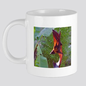 (7)Sunning Fruit Bat 20 oz Ceramic Mega Mug