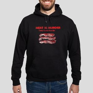 Distressed Meat is Murder 4 Hoodie (dark)
