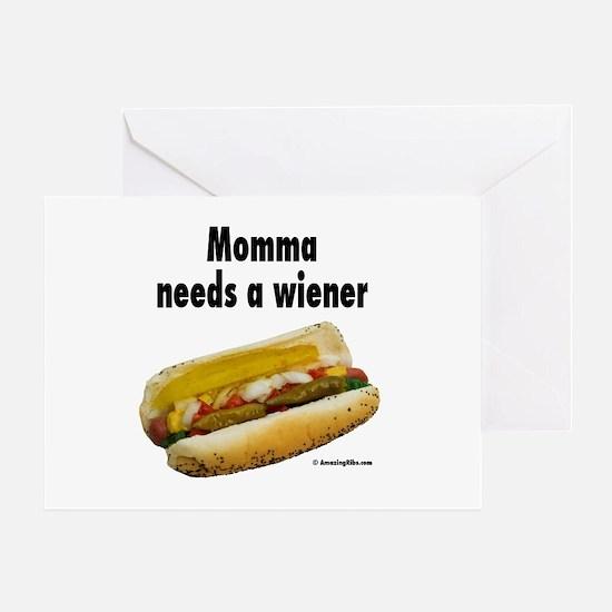 Hot dog Greeting Card