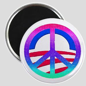 Obama Peace Logo: Magnet