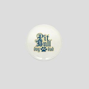 Pit Bull Dad Mini Button
