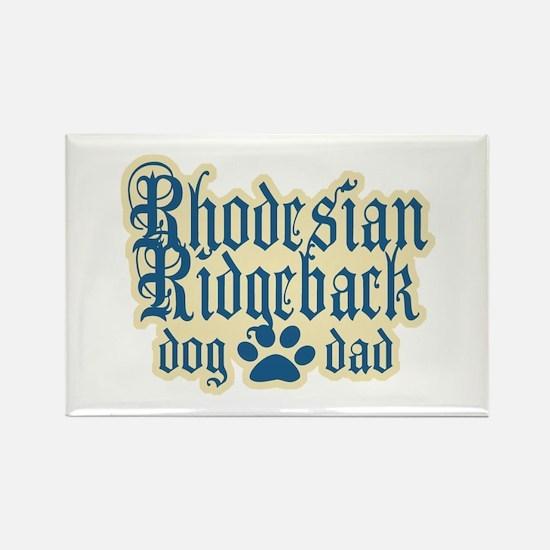 Rhodesian Ridgeback Dad Rectangle Magnet (100 pack
