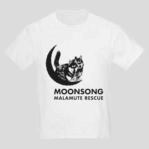 Moonsong Malamute Rescue Kids Light T-Shirt