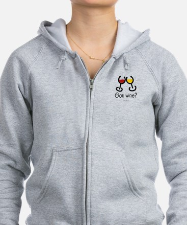Cute Food and drink Zip Hoodie