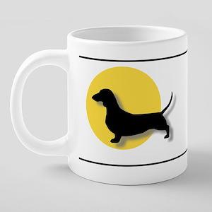 Doxiesunmug 20 oz Ceramic Mega Mug