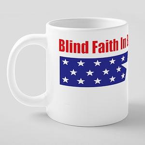 blind faith t 20 oz Ceramic Mega Mug