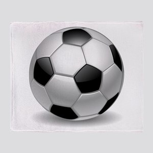 Soccer Ball Throw Blanket