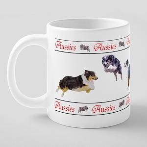 aussiesaussiesmug 20 oz Ceramic Mega Mug
