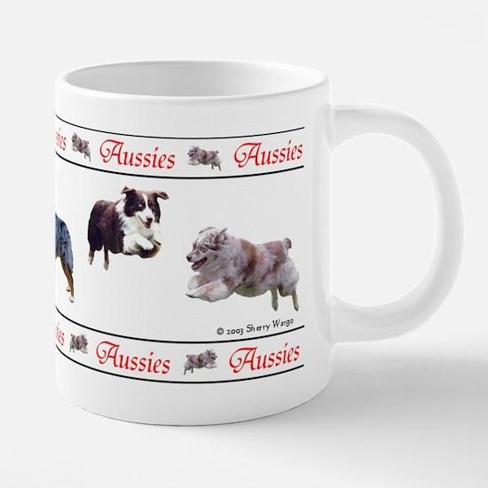 aussiesaussiesmug.png 20 oz Ceramic Mega Mug