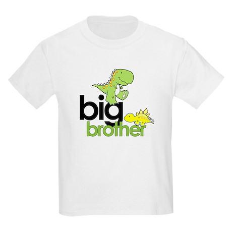 big brother t-shirt dinosaur Kids Light T-Shirt