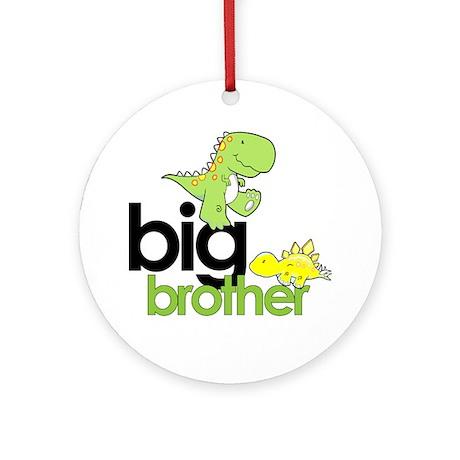 big brother t-shirt dinosaur Ornament (Round)