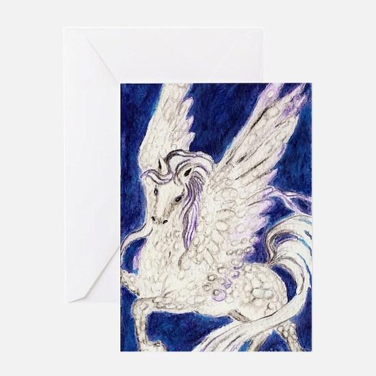 Pegasus Unbridled Greeting Card