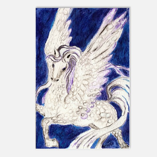 Pegasus Unbridled Postcards (Package of 8)