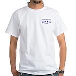 onewhiskey.com White pocket T-Shirt