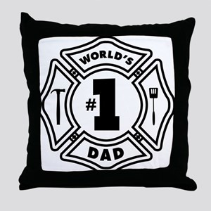 FD DAD Throw Pillow