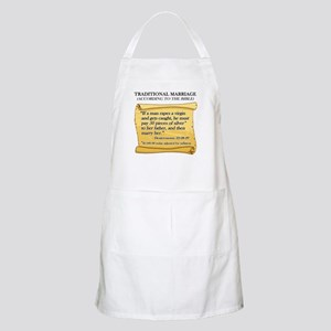 Traditional Marriage BBQ Apron