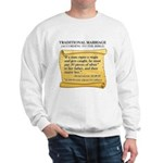 Traditional Marriage Sweatshirt