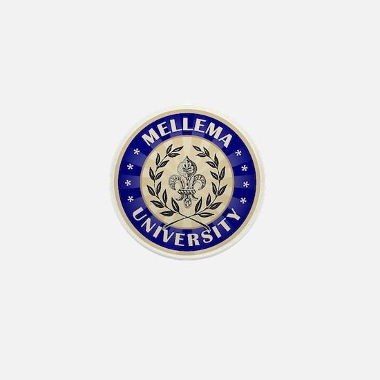 Mellema Last Name University Mini Button