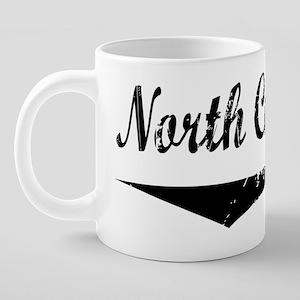 2-North Carolina bt 20 oz Ceramic Mega Mug