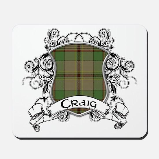 Craig Tartan Shield Mousepad