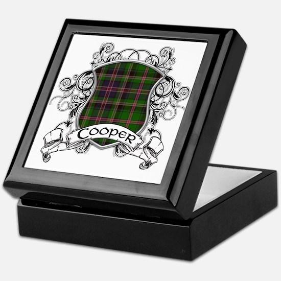 Cooper Tartan Shield Keepsake Box