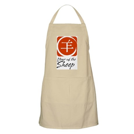 Year of Sheep BBQ Apron