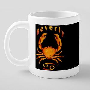 9CancerBeverlyMugX 20 oz Ceramic Mega Mug
