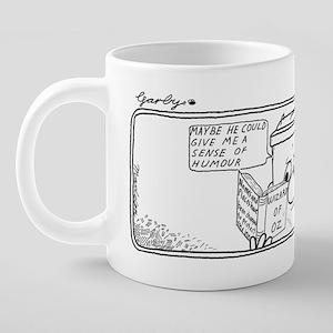 0060 Sense of Humour Enlarg 20 oz Ceramic Mega Mug