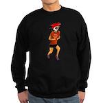 Run Zombie Run Sweatshirt (dark)
