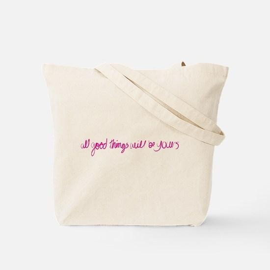 Yogagurl Mantra Tote Bag