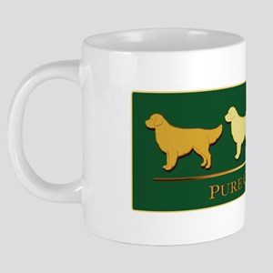 Pure Gold: Golden Retriever 20 oz Ceramic Mega Mug