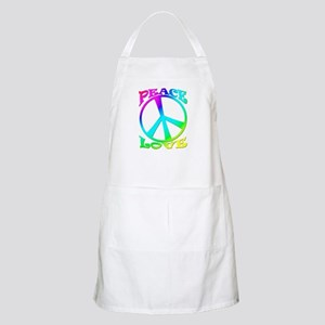 psychedelic peace sign BBQ Apron