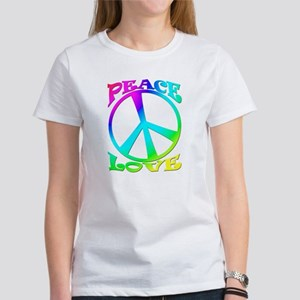 psychedelic peace sign Women's T-Shirt