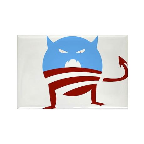 ObamaMonster Rectangle Magnet